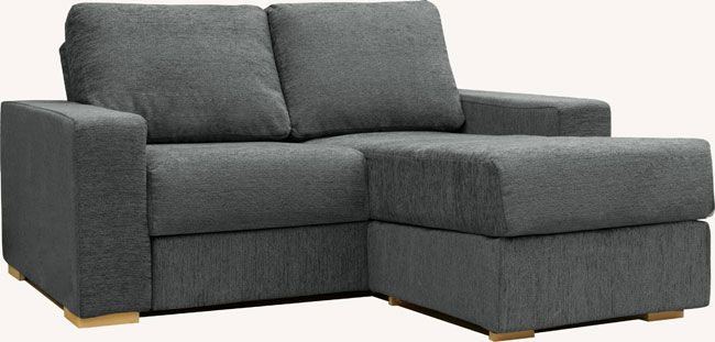 Holl 2 Seat Chaise Double Sofa Bed | Sofa, Self assembly sofa .
