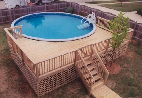 pool deck designs for a 24 round above ground | ... -plans/deck .