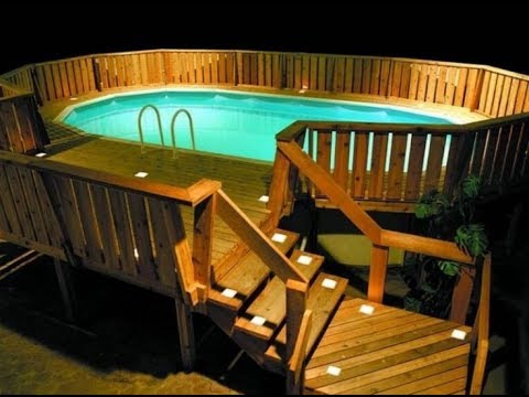 Pool Decks For Above Ground Pools - YouTu