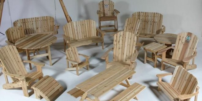 Hand Made Handmade Cedar Adirondack Furniture by The Rustic .