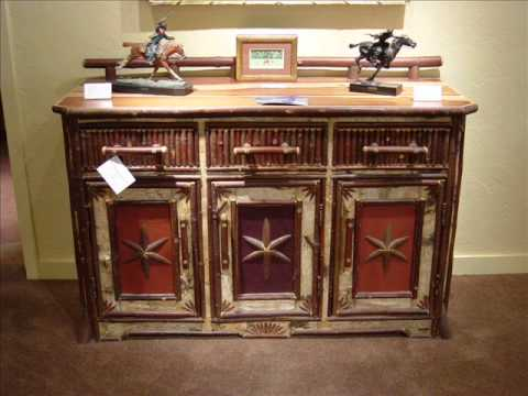 Adirondack Rustic Furniture by Jim Howard - YouTu
