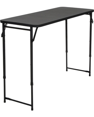 Discover Deals on Rectangle Adjustable Height Folding Table .