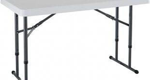 Amazon.com: Lifetime 80160 Commercial Height Adjustable Folding .
