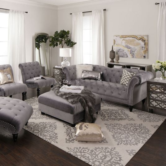 Bella Living Room Collection | Jerome's Furniture | Rooms home .