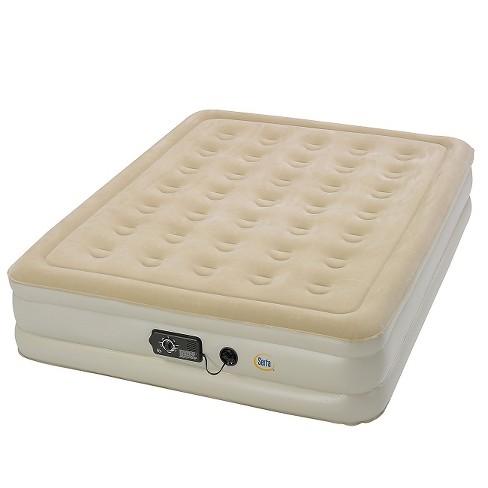 Serta Comfort Air Mattress With Electric Pump - Double High Queen .
