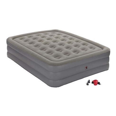Coleman GuestRest Double High Air Mattress With External Pump .