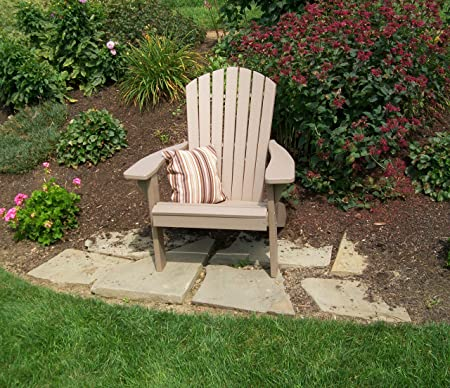 Amazon.com : Polywood Adirondack Chair, Poly Wood Chairs for All .