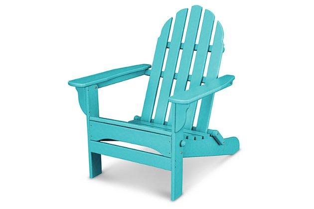 POLYWOOD Emerson All Weather Adirondack Chair   Ashley Furniture .