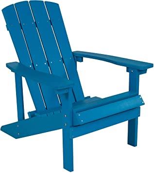 Amazon.com: Flash Furniture Charlestown All-Weather Adirondack .