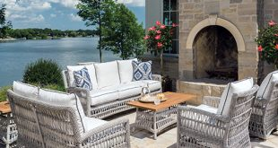 Lloyd Flanders - Premium outdoor furniture in all-weather wicker .
