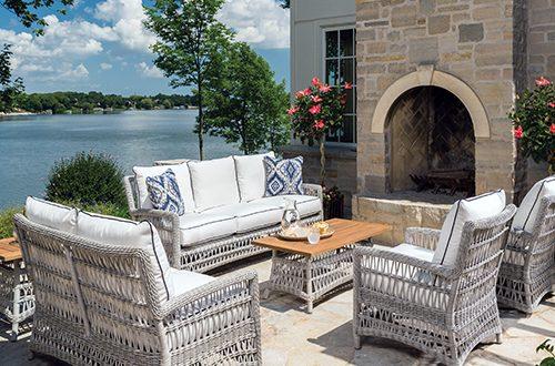 Lloyd Flanders - Premium outdoor furniture in all-weather wicker .