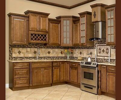 10x10 All Solid Wood KITCHEN CABINETS GENEVA RTA 816124022473 | eB
