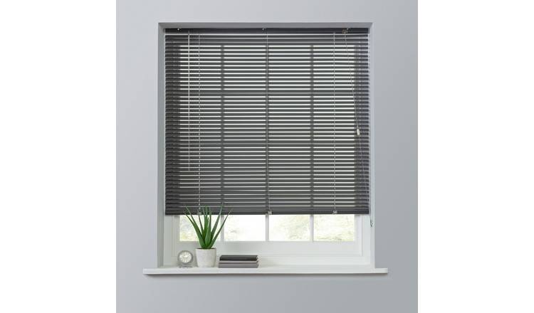 Buy Argos Home 25mm Aluminium Venetian Blind - Gun Metal .