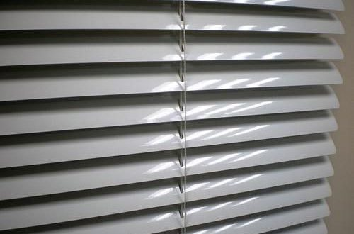 Grey Horizontal 25mm Aluminium Venetian Blind, Rs 130 /square feet .