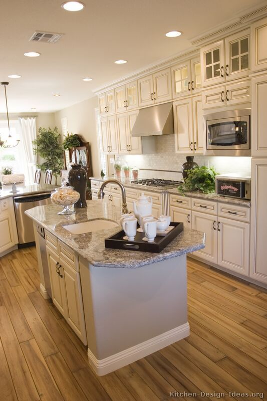 Pictures of Kitchens - Traditional - Off-White Antique Kitchen .