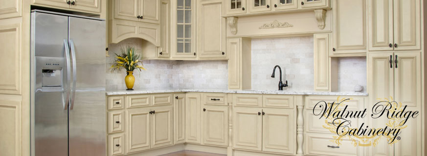 Antique White Cabinets - Brokering Solutio