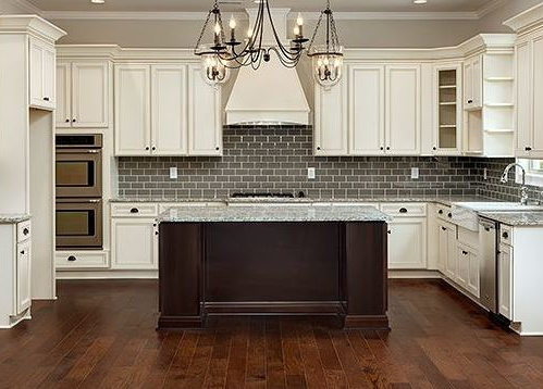 Cumberland Antique White Country Kitchen Cabinets - Wholesale .