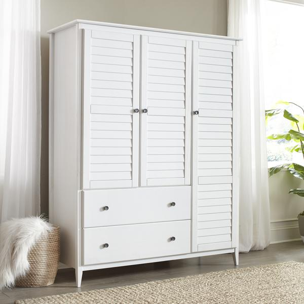 Greenport 3-Door Wardrobe – Grain Wood Furnitu