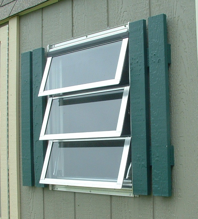Awning Windows vs. Casement Windows | Shed Windows and More 843 .