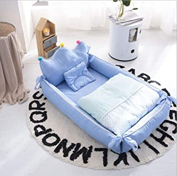 Amazon.com : Crib Portable Bed Washable Bed Bionic Bed Baby Bed .
