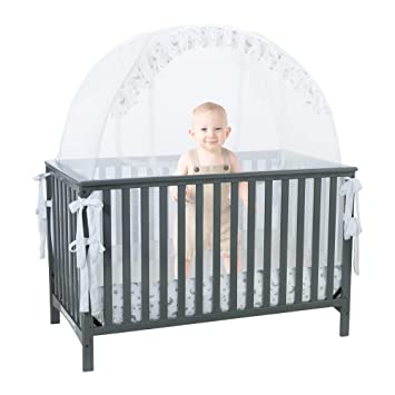 Amazon.com : Pro Baby Safety Pop up Crib Tent: Premium Baby Bed .