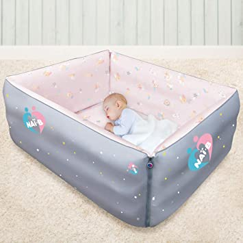Amazon.com : Nai-B Baby Versatile Portable Bed, Inflatable Blow Up .