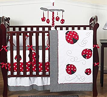 Amazon.com : Sweet Jojo Designs Red and White Polka Dot Ladybug .