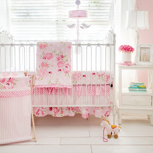 Crib Bedding Set My Baby Sam White Pink : Targ