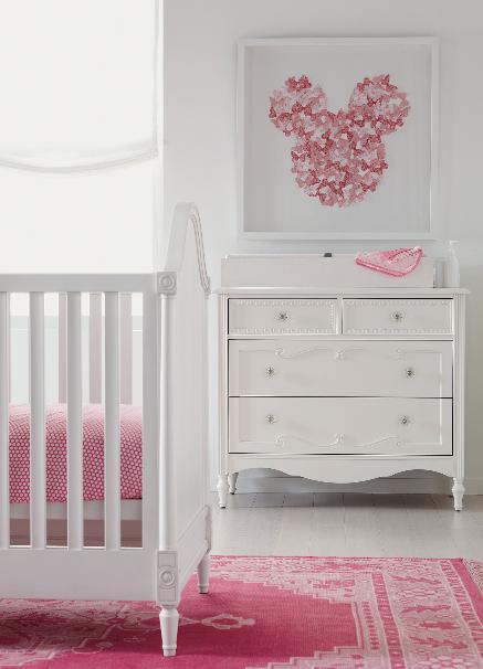 Baby girl Disney nursery room | Disney baby rooms, Girls disney .