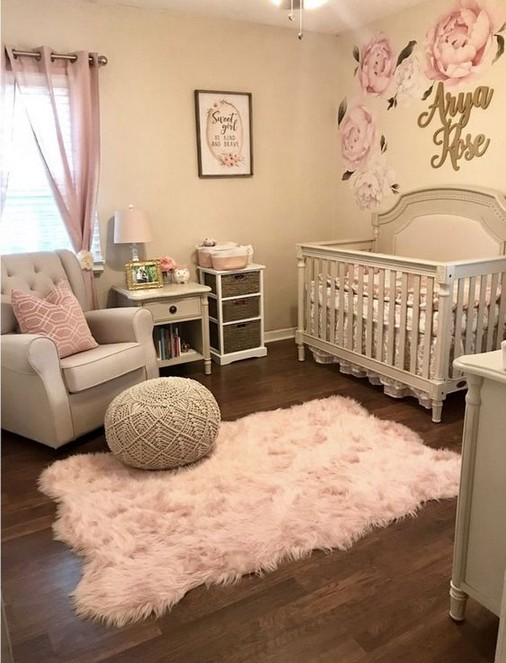 27 Cute Baby Room Ideas Nursery Decor for Girl | ekawer.c