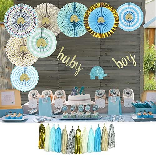 Elephant Baby Shower Decorations for Boy: Amazon.c