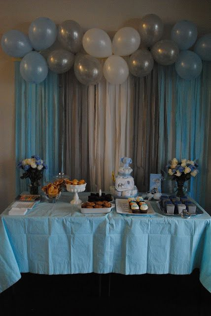 Nikki's Elephant-themed Baby Shower! | Baby shower balloons, Baby .