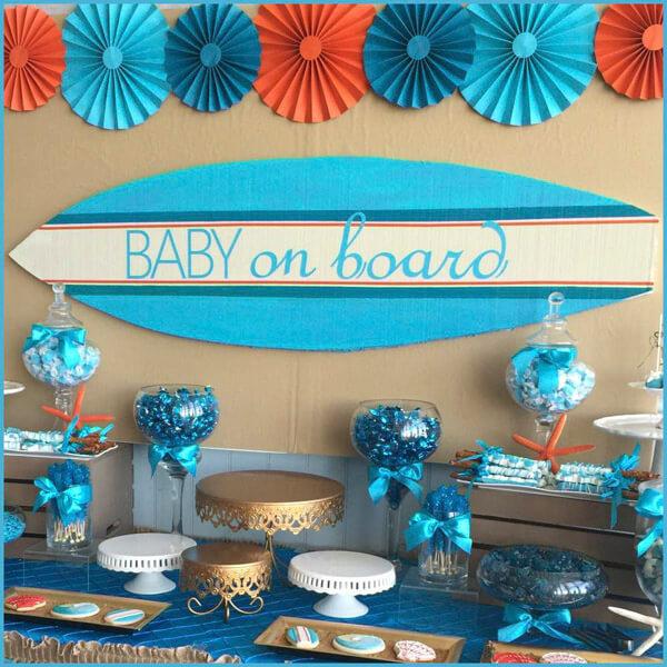 Easy, Budget Friendly Baby Shower Ideas For Boys - Tulama