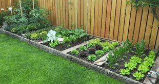 35 Stunning Backyard Garden Design Ideas   Backyard garden design .