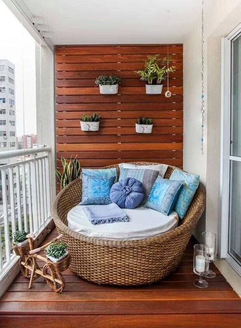 Beautiful Materials for Small Balcony Designs Adding Style to Home .
