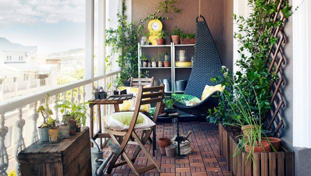 17 Attractive Small Balcony Designs That Everyone Will Ado