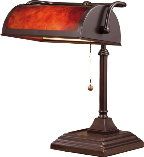 Normande Lighting BL1-103 Bankers Lamp Revi
