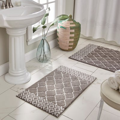 Geometric Bath Mats & Rugs | Find Great Bath Linens Deals Shopping .