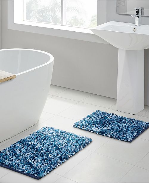 VCNY Home Di Shag 2-Pc. Bath Rug Set & Reviews - Bath Rugs .