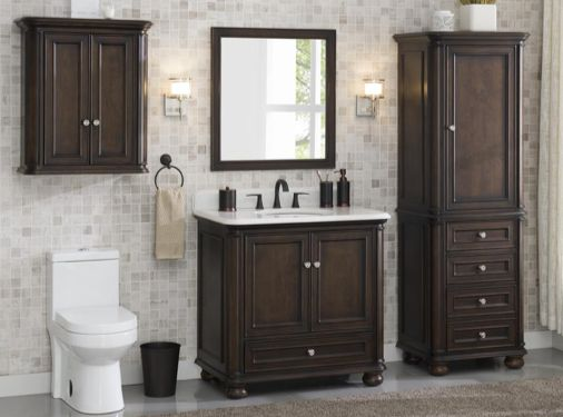 Smart Place For A Better Show With Bathroom Cabinets Lowes .