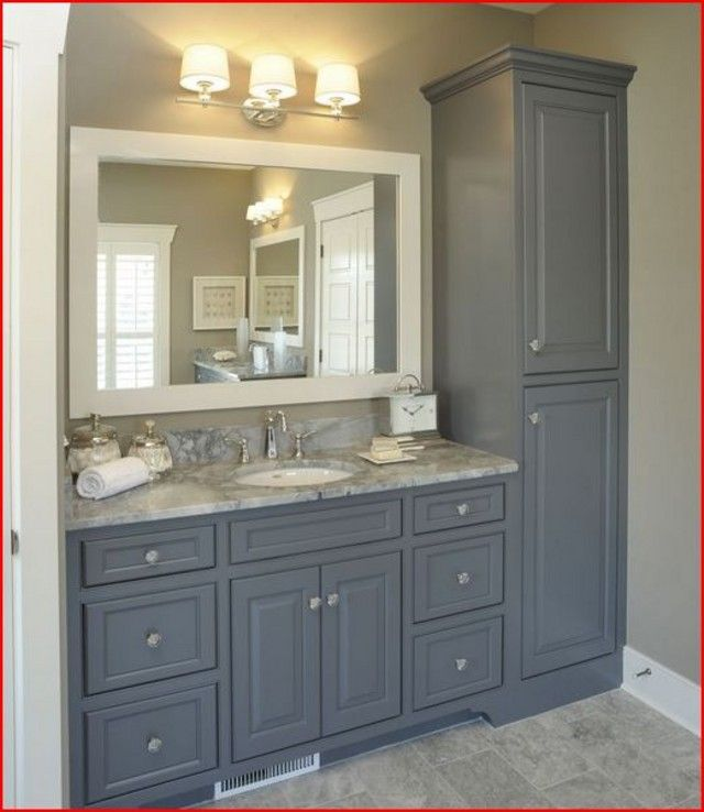 20 Wonderful Grey Bathroom Ideas With Furniture to Insipire You .