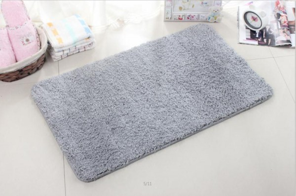 New Super Soft Bathroom Carpet Non Slip Machine Washable Bathmat .