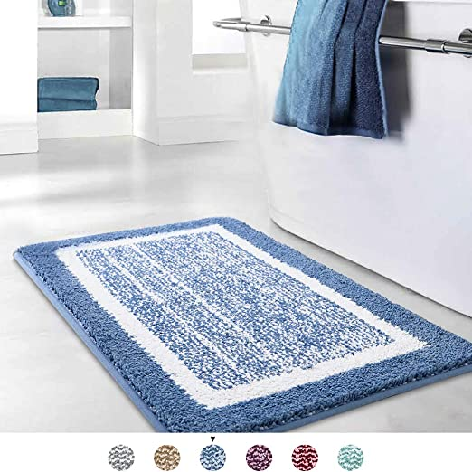 Amazon.com: Bathroom Rug Mat, Ultra Soft and Water Absorbent Bath .
