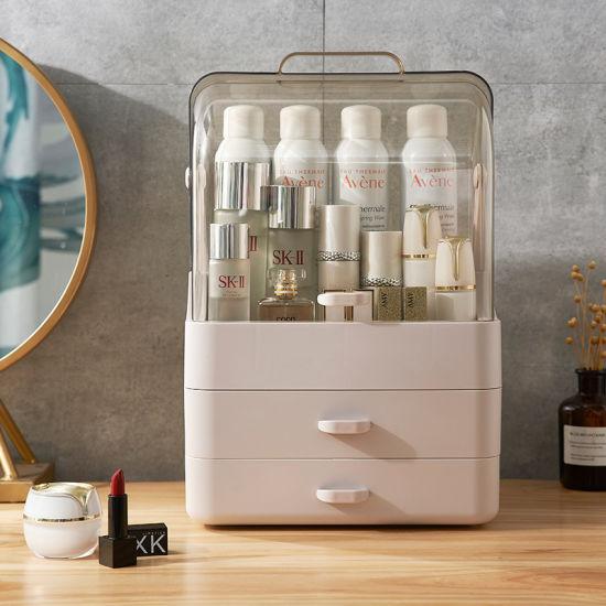 China Bathroom Countertop Cosmetic Makeup Storage Display Box with .