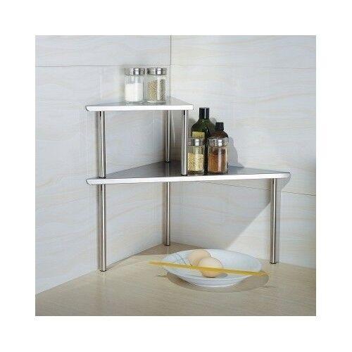 Shelf For Kitchen Corner 2 Tier Bathroom Organizer Countertop .