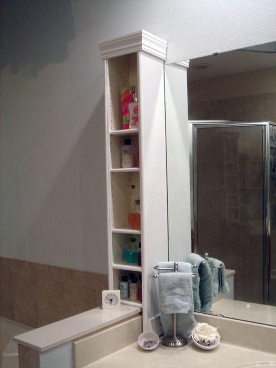 I need more space! | Bathroom countertop storage, Trendy bathroom .