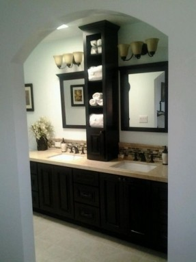 New Bathroom Countertop Storage Cabinet Tower Foter Idea Drawer .