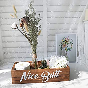 Amazon.com: Amugo Farmhouse Bathroom Decor - Nice Butt Bathroom .
