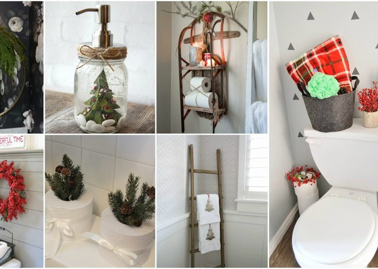 Stunning Christmas Bathroom Decor Ideas To Get In The Holiday Mo