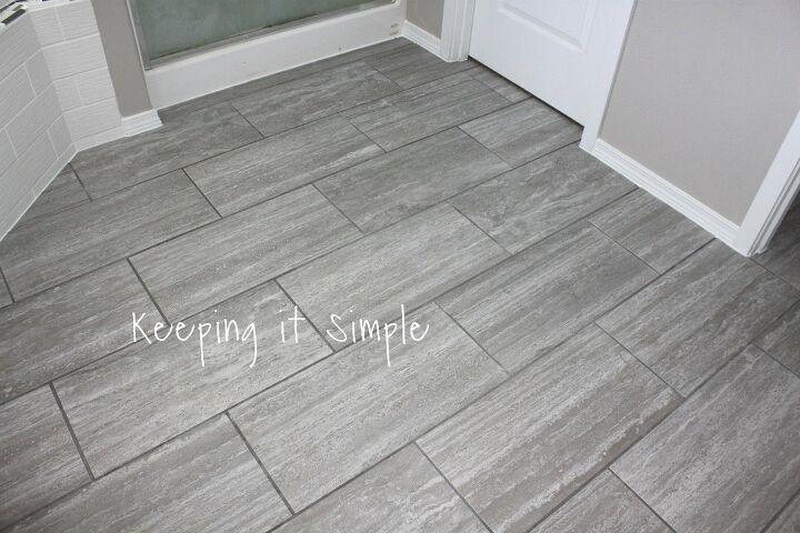 14 Stylish Bathroom Floor Tile Ideas for Small Bathrooms | Hometa